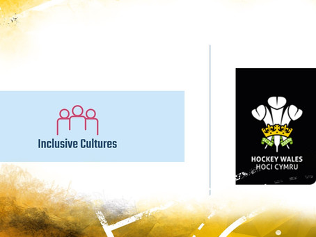 Hockey Wales' new partnership with Inclusive Cultures