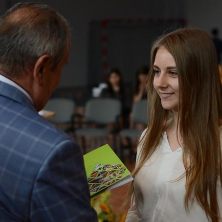 "Нагорода ""Nagrody Starosty Puławskiego - Być Najlepszym"" і закінчення року в школі"