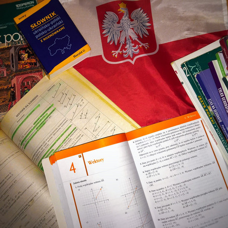 5  відмінностей між польскою та українською школою / różnic pomiędzy polską a ukraińską szkołą