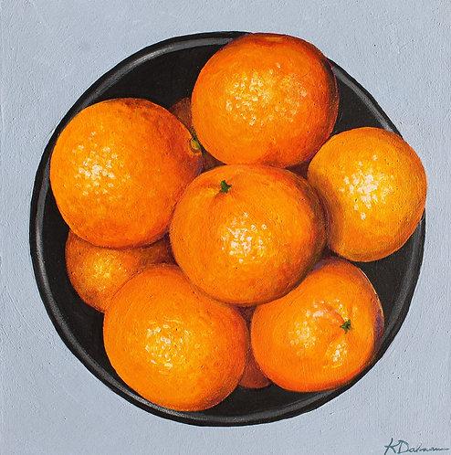 Bowl of Oranges No.1