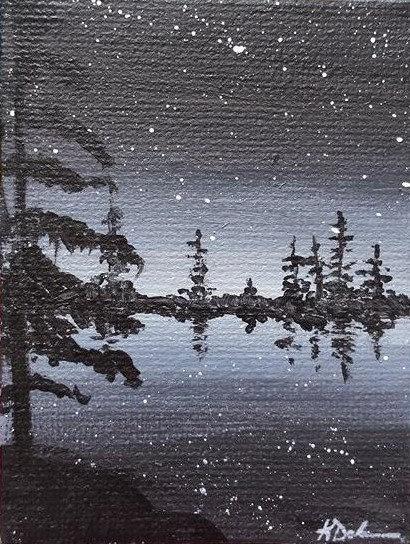 Lake at Night No.1