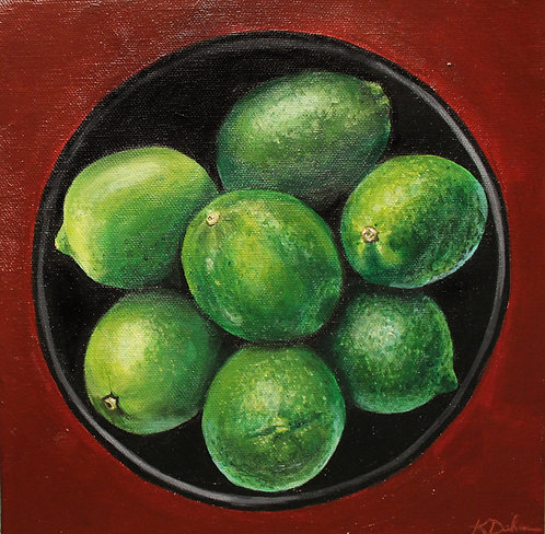 Bowl of Limes No. 1