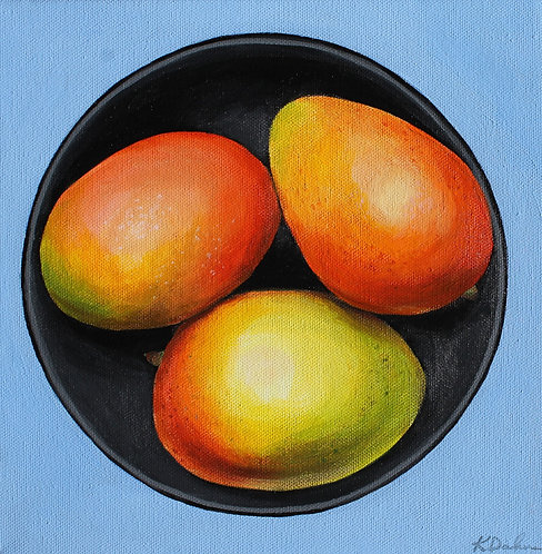 Bowl of Mangos No.1