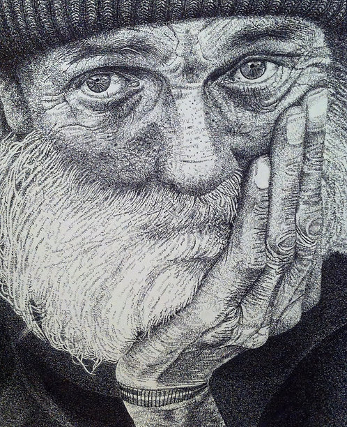 """One Thousand Words- Old Man"" Print"