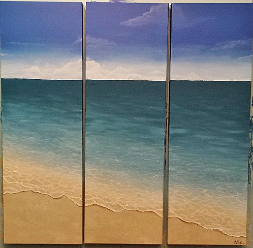 Beach Triptych