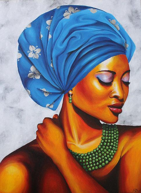 Nigerian Head Dress