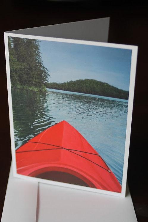 Red Kayak Card