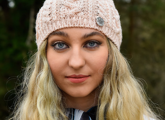 Wool Headband Blush