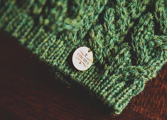 Wool Headband Celtic Green