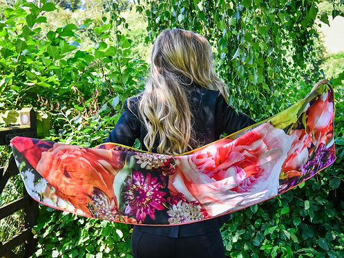 Cliffy Grand Silk Scarf