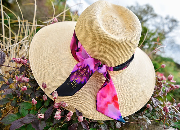 Spring Rose Silk Twilly