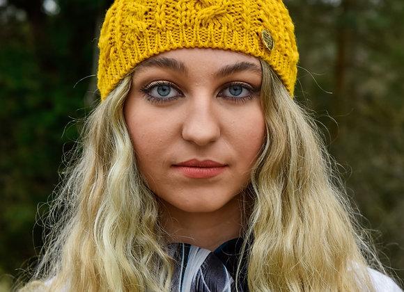 Wool Headband Mustard