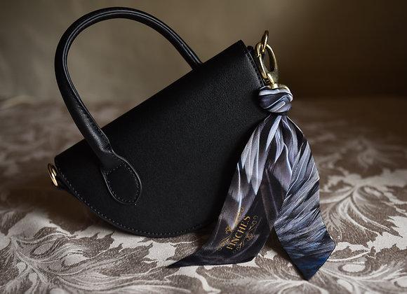 Triumphant Plumage Silk Mini Twilly Charm