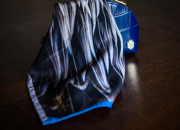 Triumphant Plumage Silk Pocket Square