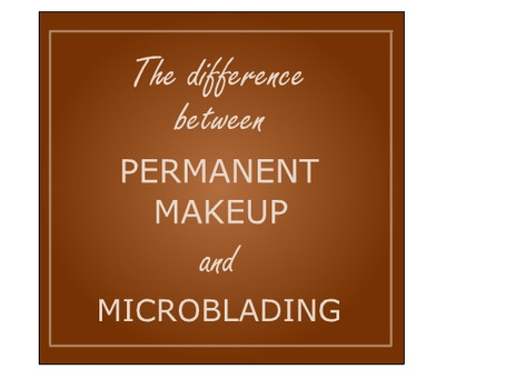 Permanent Makeup vs Microblading