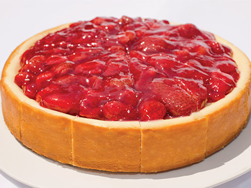 Strawberry topped Cheesecake