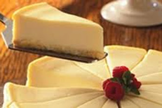 Plain Cheesecake w/fresh strawberries