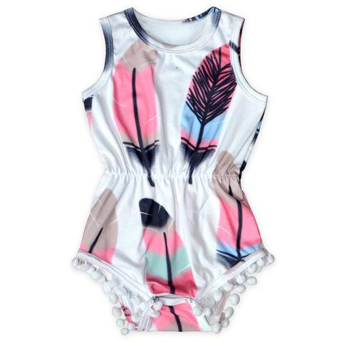 Feather Romper *sold out
