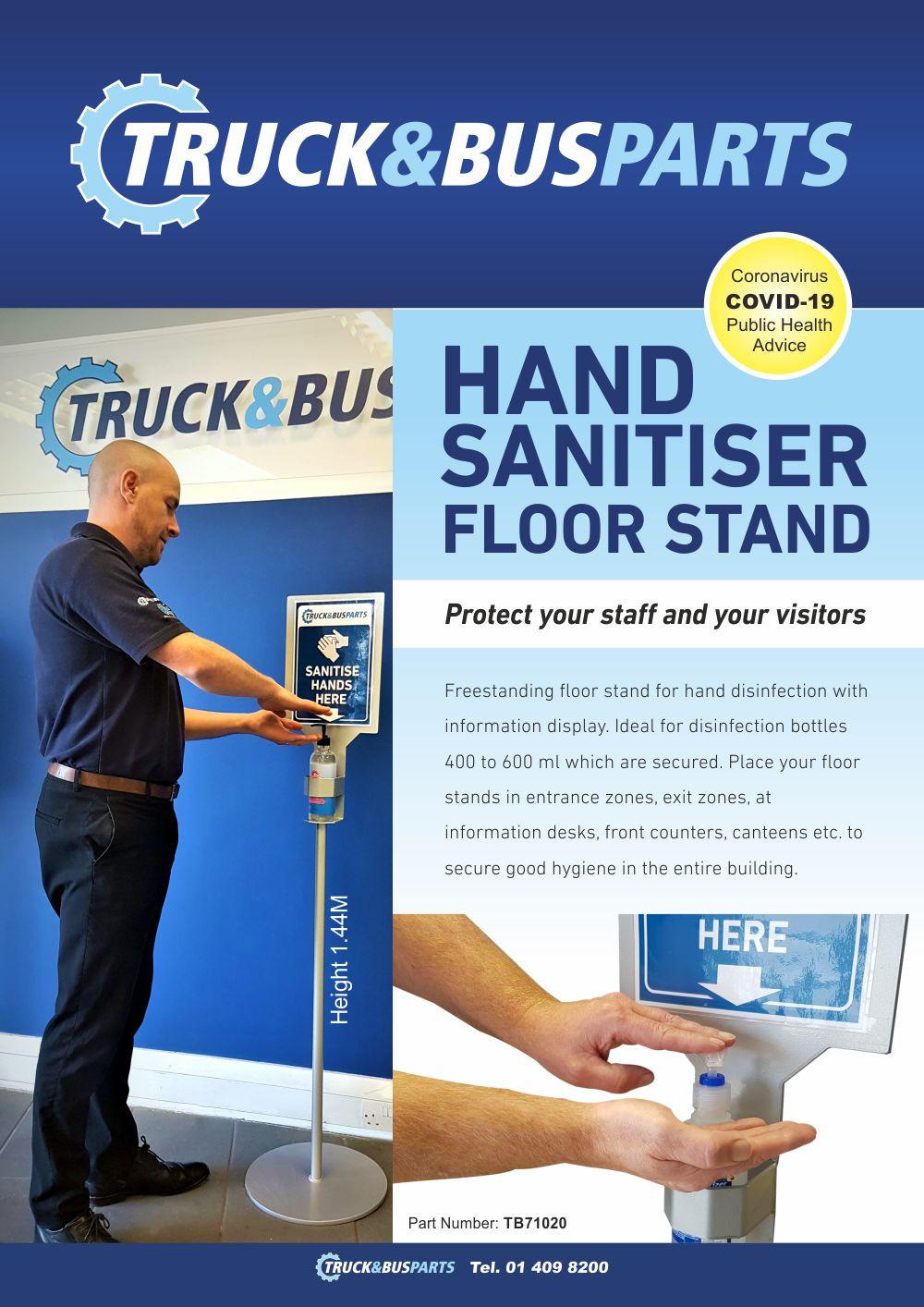 Hand Sanitiser Stand