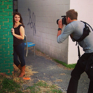 Capturing images for a rising senior.