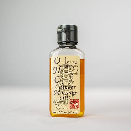 Chinese Massage Oil  2 oz
