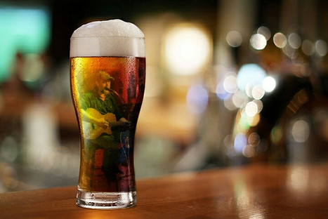 Nate in Beer Glass