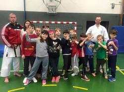 Děti a trenéři
