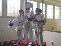 Focení s diplomy z Krajského poháru
