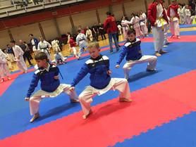 1. kolo národního poháru karate Goju Ryu v Hustopečích