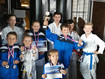 Naši závodníci mistry ČR v karate Goju ryu