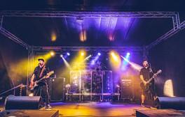 skupina Iné Kafe - zvuk, světla a stage