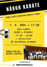 Nábor - 7. 9., ZŠ Holečkova Olomouc