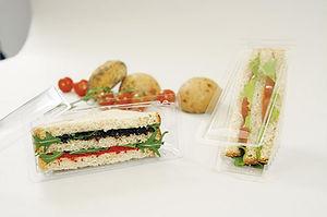 boite sandwich triangle - Pack'in Bio