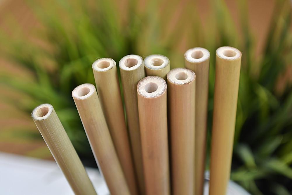 paille biodégradable en bambou