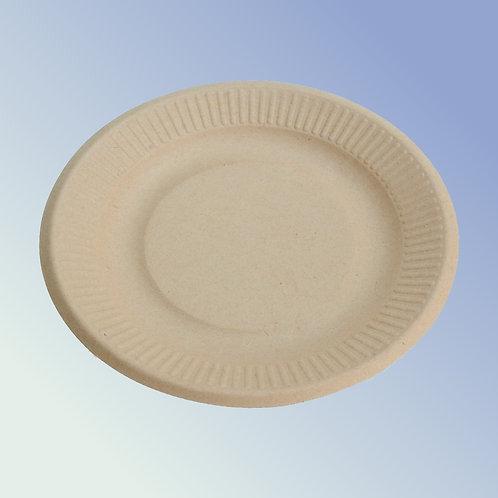 Assiettes biodégradables 23 cm