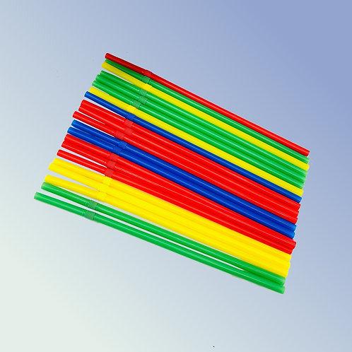 Pailles flexibles biodégradables 6 x 200 mm