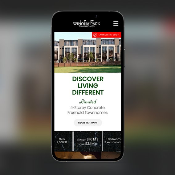 Mobile version of Winona Park Townhomes