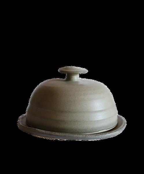 Ceramic Butter Dish Concrete
