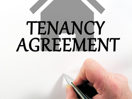 What should be in a Tenancy Agreement?