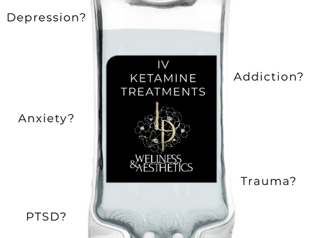 IV Ketamine: Cutting edge treatment for anxiety, depression, addiction, PTSD and more...