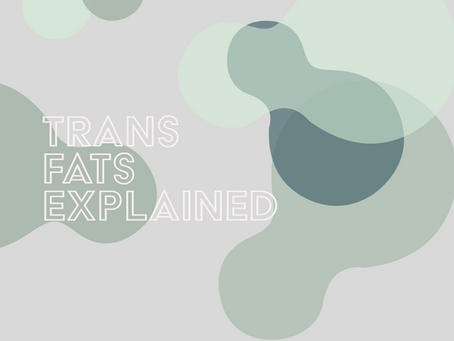 Trans fats explained