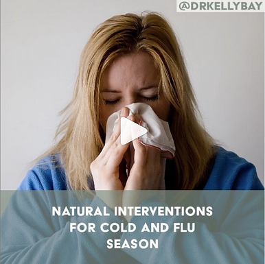 Natural Interventions for Cold and Flu Season