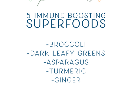 5 Immune Boosting Superfoods