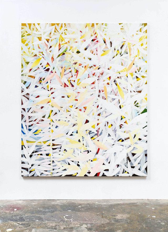 Garden (White)_2019_oil on canvas_175 x