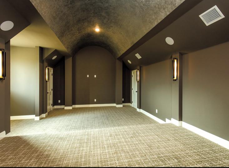 Winding Home Theatre Room