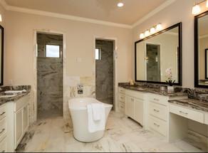 Winding Home Master Bath