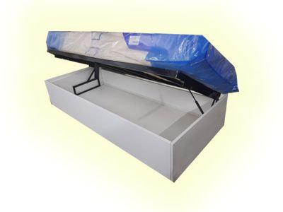 cama box individual con colchón La cardeuse