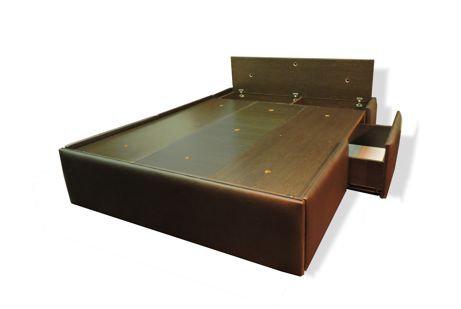 oferta cama con cajones tapizada