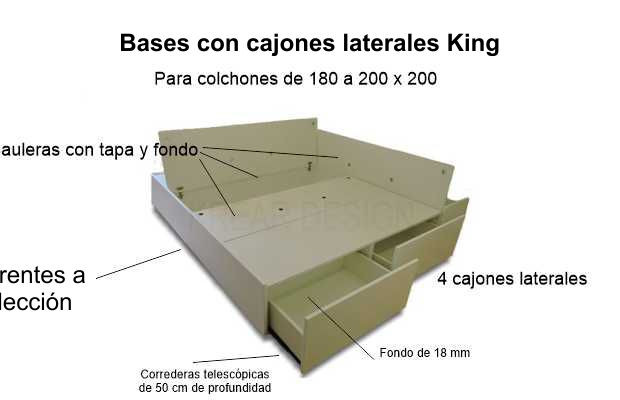 laterales King