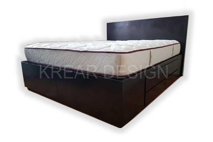 cama con cajones en doble altura